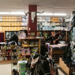 Entrada y tienda