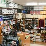 Caja y tienda